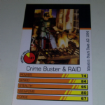 Action Man Power Cards 1996 Crime Buster & Raid Trading card @sold@